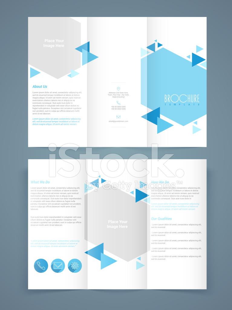 Professionelle Business Flyer, Vorlage Oder Broschüre Stock Vector ...