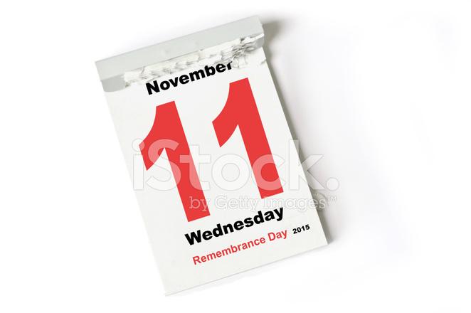 11. November 2015 Remembrance Day