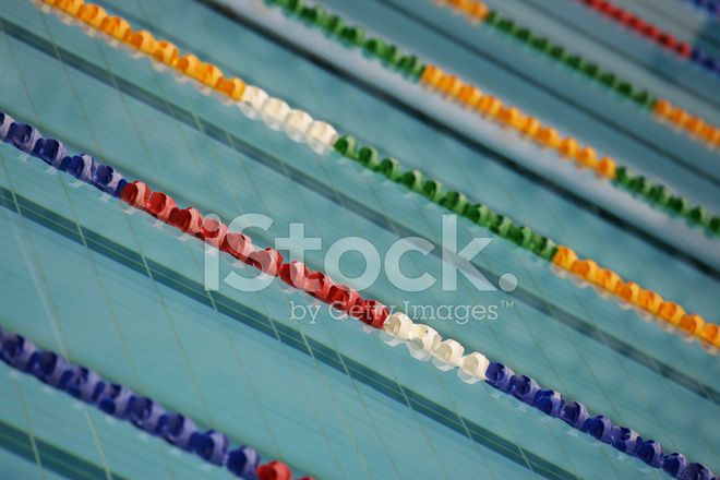 Swimming Pool Lane Ropes Stock Photos - FreeImages.com