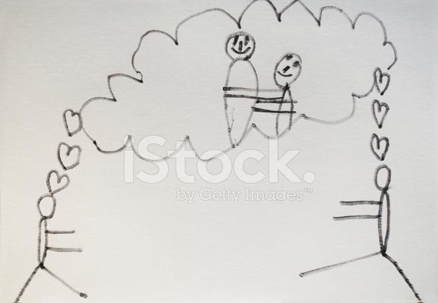 Disegno Di Un Bambino : Disegno di amore di bambino fotografie stock freeimages.com