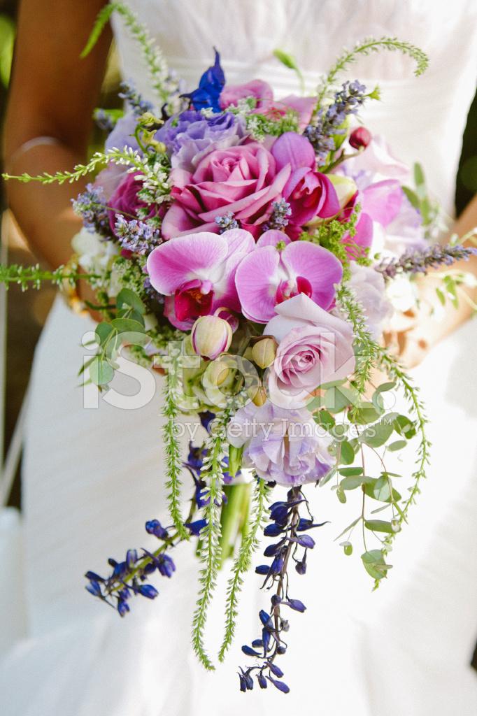 Rosa Lila Und Blau Hochzeitsstrauss Stockfotos Freeimages Com