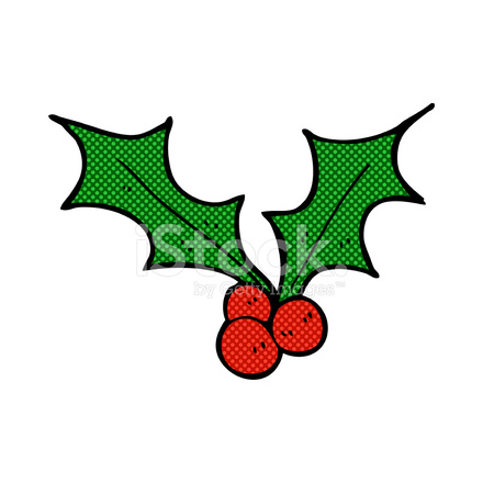 comic cartoon christmas holly stock vector freeimages com holly clip art free download holly clip art free printable