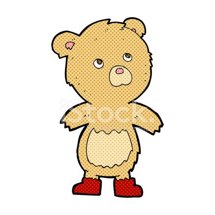 Ours en peluche dessin anim comique photos - Dessin ours en peluche ...