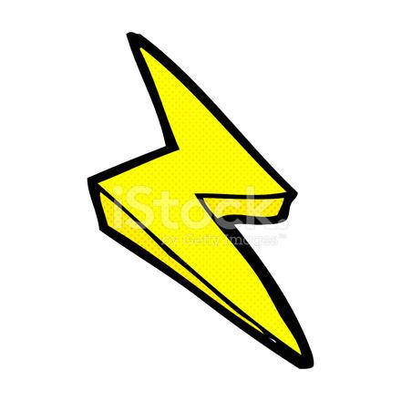 comic cartoon lightning bolt symbol stock vector lightning bolt clipart black lightning bolt clipart vectorized