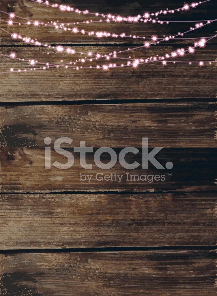 Celebrate String Of Lights Invitation Design Template