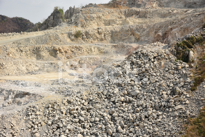 Open Pit Limestone Mining, Stock Photos - FreeImages com