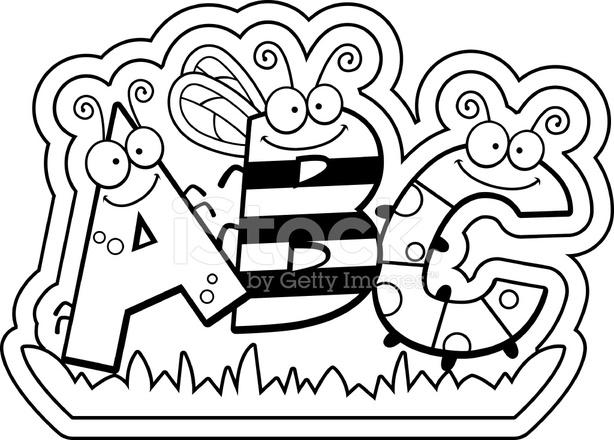 Cartoon Abc Text Stock Vector Freeimages Com