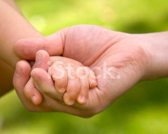 Caring Holding Hands
