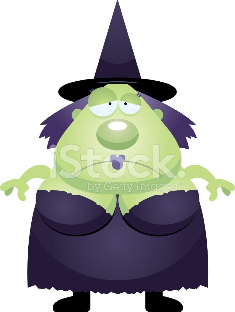 sad cartoon witch stock photos freeimages com