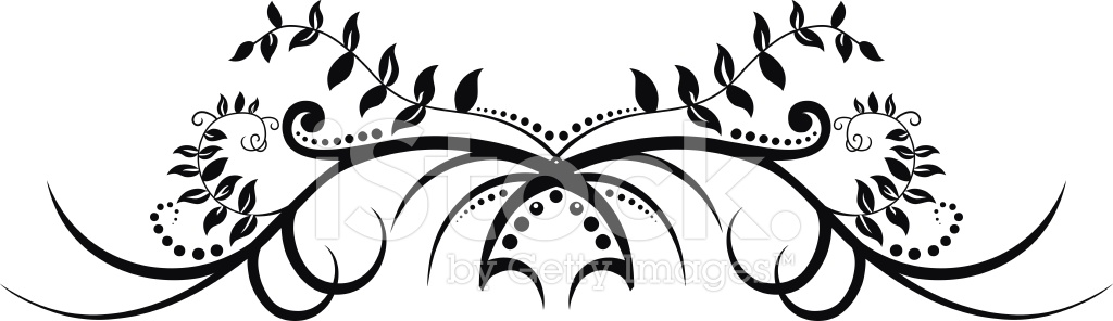 Dessin Tribal Floral Stock Vector Freeimages Com