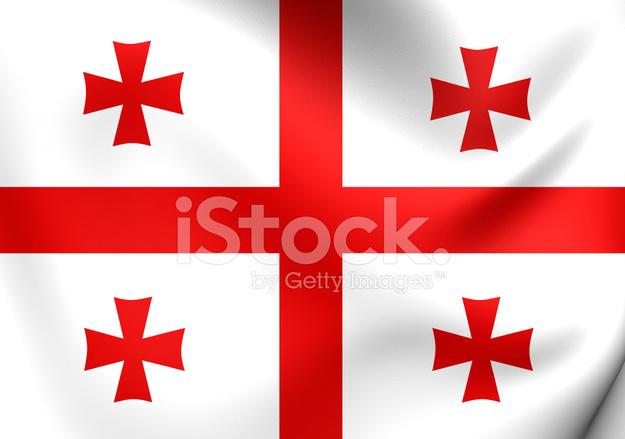 ジョージア州の旗 ストックフォ...