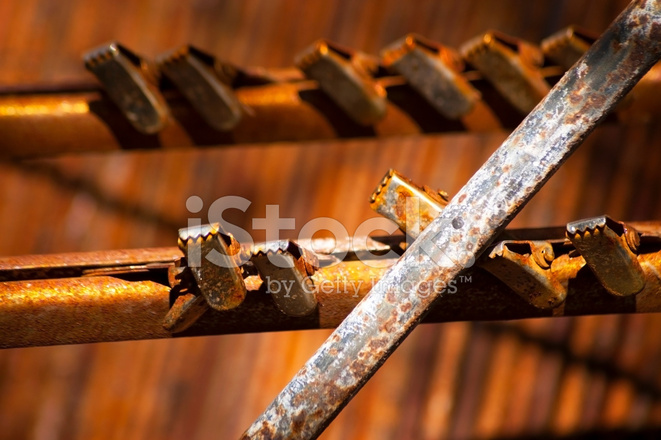 Old Rusty Curtain Rod Stock Photos Freeimages Com