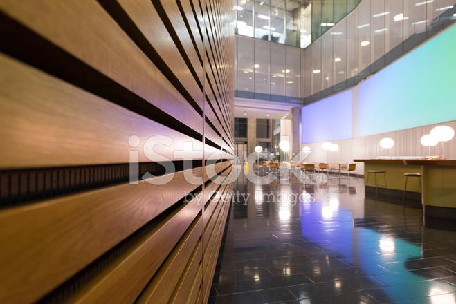 Zona Vestíbulo Y Reunión DE Interior DE Oficinas Modernas ...