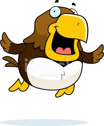 Cartoon Hawk Flying stock photos - FreeImages.com Flying Hawk Cartoon
