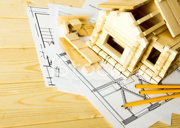 Beaucoup De Dessins Pour La Construction Crayons Et Petite Maison