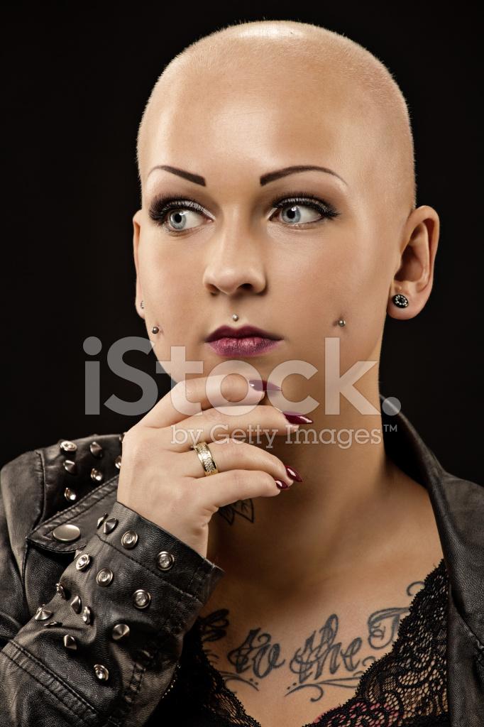 Shaved Head Tattoo 78