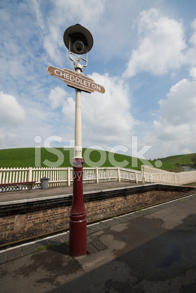Old British Railways Station Sign Stock Photos - FreeImages com