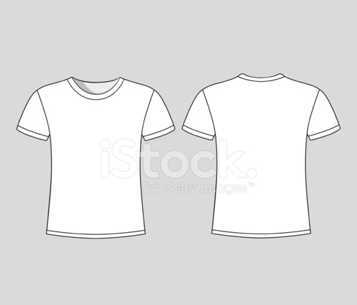 men 39 s white short sleeve t shirt design templates stock vector. Black Bedroom Furniture Sets. Home Design Ideas