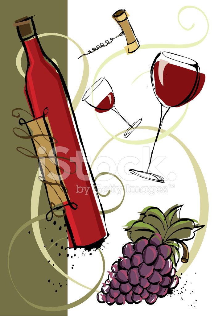 Red Vintage Wine 37