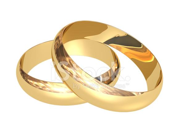 Goldene Hochzeit Ringe Stockfotos Freeimagescom