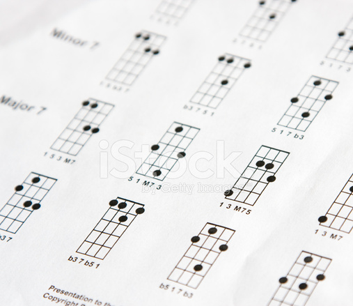 Mandolin Chord Sheet Stock Photos Freeimages