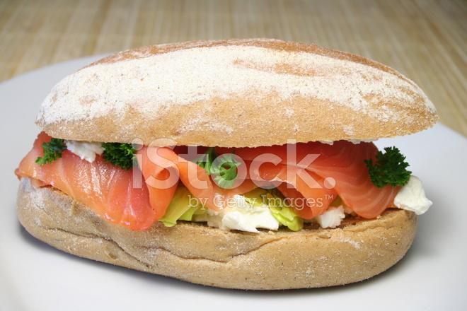 sandwich au saumon photos. Black Bedroom Furniture Sets. Home Design Ideas