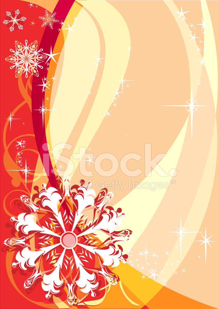 Rot Weihnachten Hintergrund MIT Schneeflocken Stock Vector ...