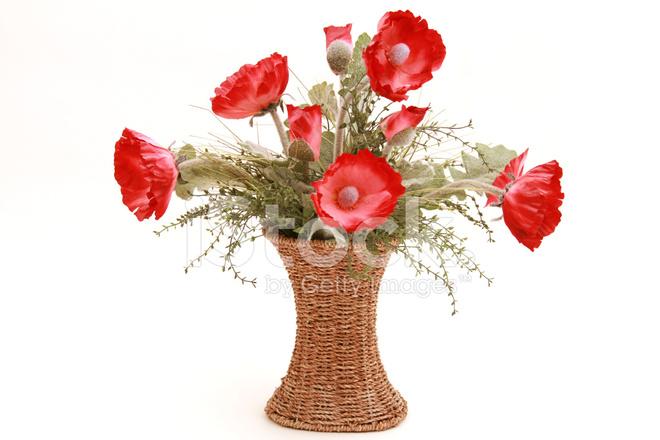 Red poppies flower arrangement stock photos freeimages premium stock photo of red poppies flower arrangement mightylinksfo