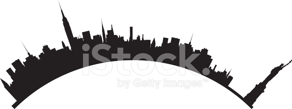 new york skyline stock vector freeimages com