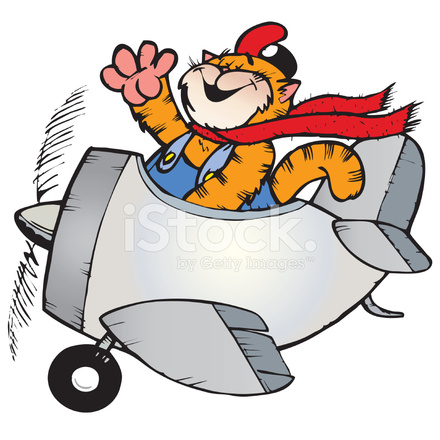 cat flying plane stock vector freeimages com clip art lonsdale clip art lions club international