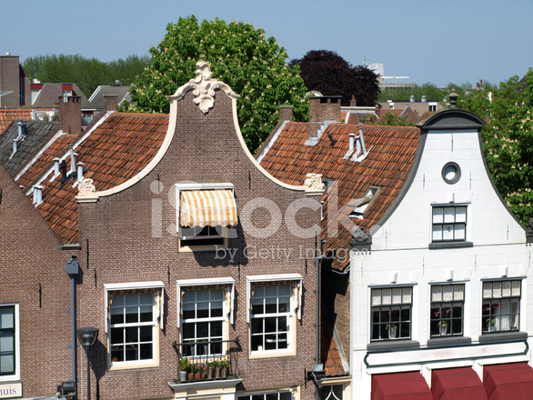Typical Old Dutch Houses Stock Photos Freeimages Com