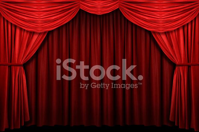 Rode Podium Gordijn Stockfoto\'s - FreeImages.com