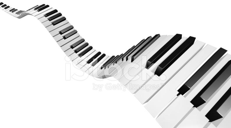 flying piano keys stock photos. Black Bedroom Furniture Sets. Home Design Ideas