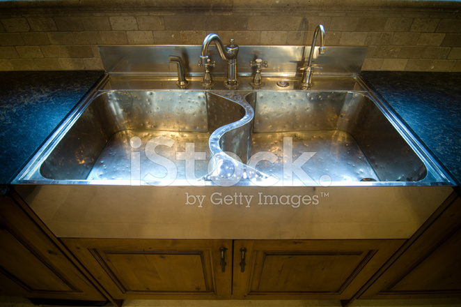 Sterling Silver Kitchen Sink Stock Photos - FreeImages.com