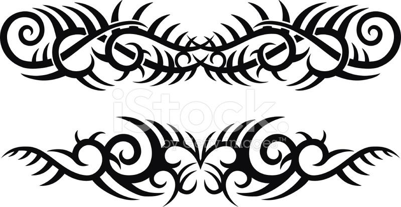 tribal tattoo designs stock photos. Black Bedroom Furniture Sets. Home Design Ideas