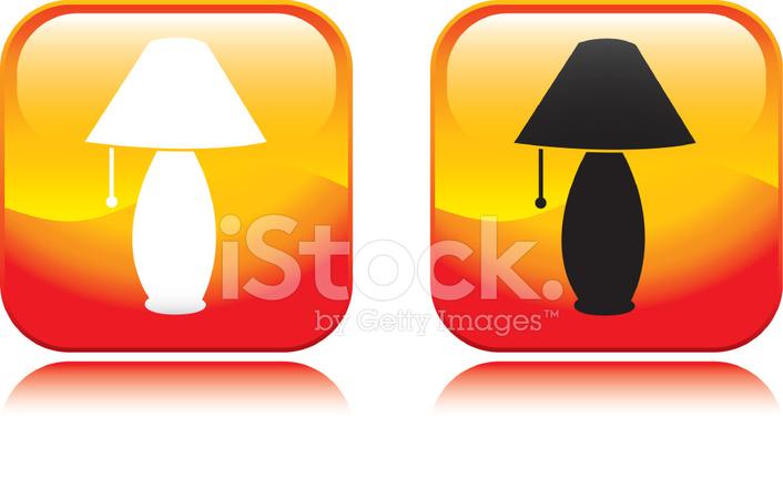 Lampe Symbol Stock Vector - FreeImages.com