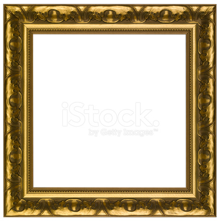 Square Gold Frame Stock Photos - FreeImages.com