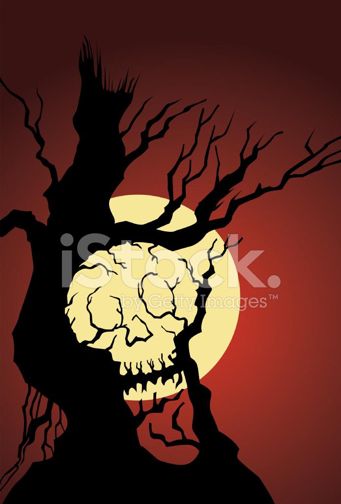 Güzel Halloween Arka Plan Stock Vector Freeimagescom