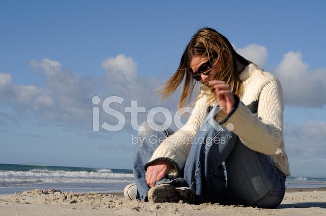 kvinnorna på stranden