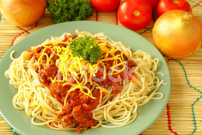 Spaghetti Alla Bolognese Stock Photos Freeimages Com