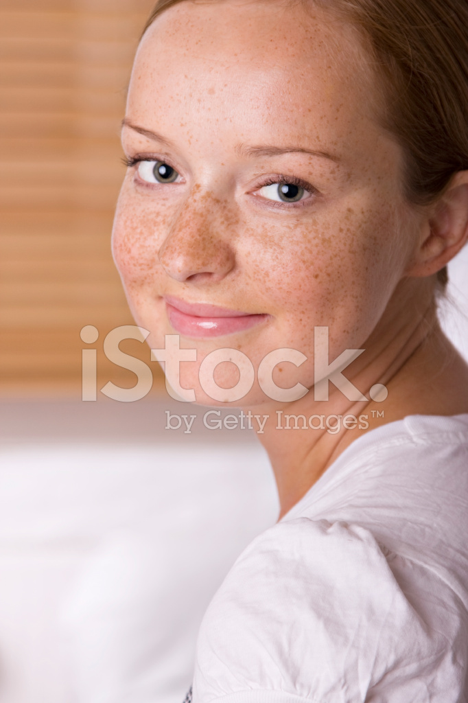 Pretty Girl With Freckles Stock Photos Freeimages Com