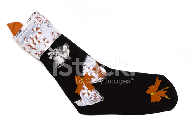 Calcetín DE Navidad En Color Fotografías de stock - FreeImages.com
