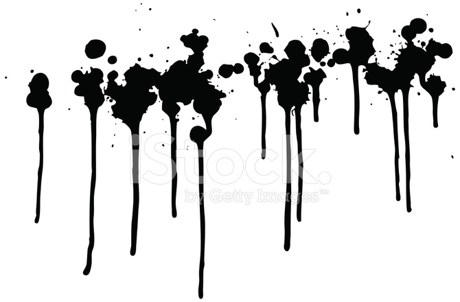 black dripping paint stock vector freeimages com rh freeimages com orange paint drip vector orange paint drip vector