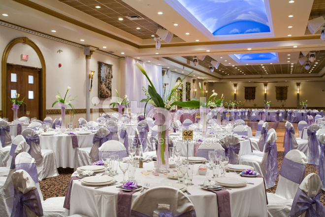 wedding reception hall table setting stock photos freeimages com