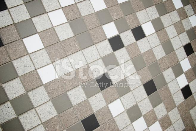 Zwart Witte Tegels : Zwart wit bruin tegel mozaïek stockfoto s freeimages