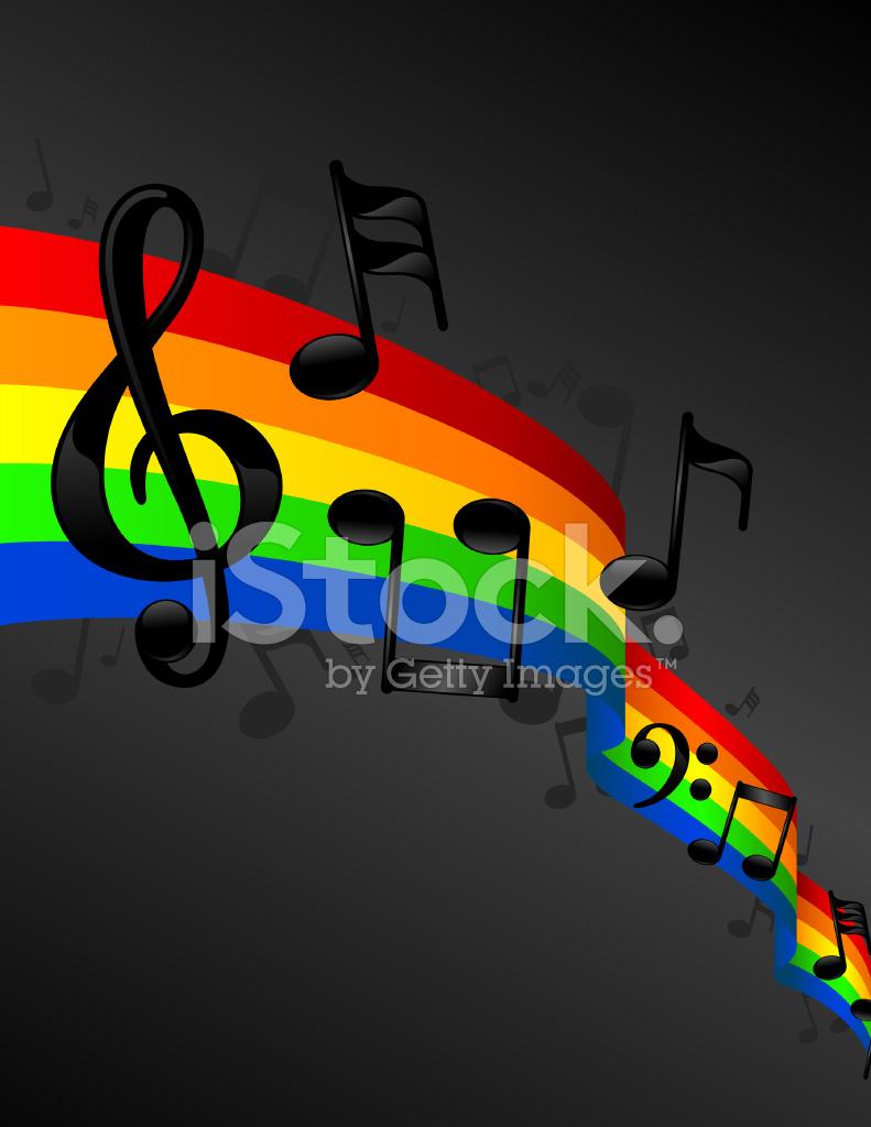 music notes rainbow background stock photos freeimagescom