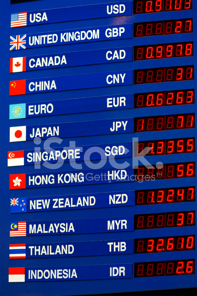 Currency Exchange Board Stock Photos - FreeImages com