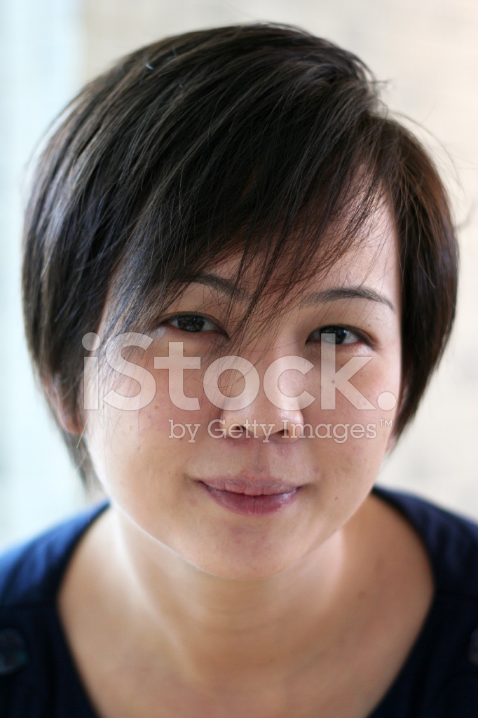 Asian Girl With Short Hair Stock Photos Freeimages
