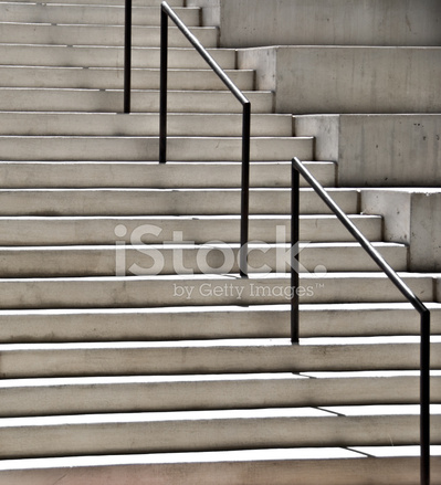 Modern Architectural Stairs And Stadium Seating, Cast Concrete