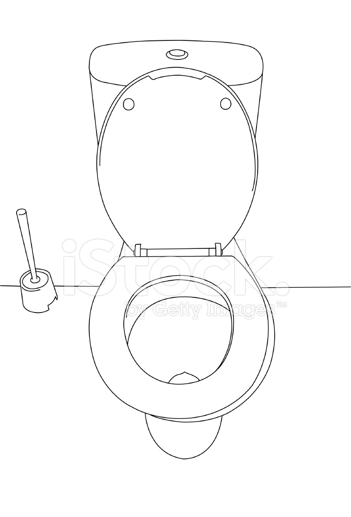 toilet drawing. can  Toilet Drawing
